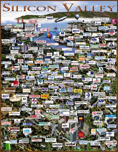 Silicon Valley by  Revol Web