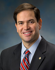 Official portrait of US Senator Marco Rubio of Florida.