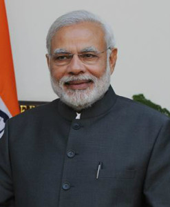 PM Modi during the state visit of the President of the Republic of Singapore to India, 2015. Photo by Narendra Modi