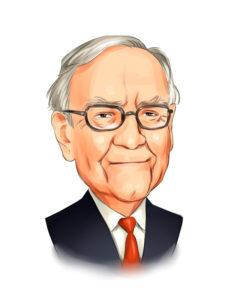 Portrait of Warren Buffet from Insider Monkey