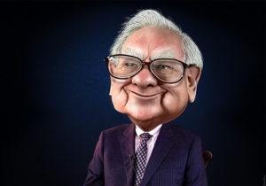 Warren Buffett - Caricature, courtesy of  DonkeyHotey