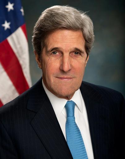Official portrait of U.S. Secretary of State John Kerry.